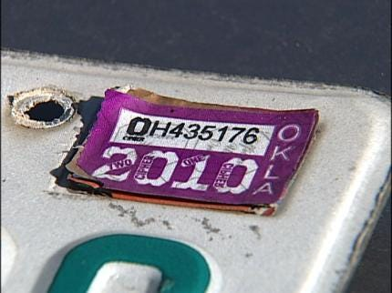 Inola Man Frustrated Over Expired Tag Snafu