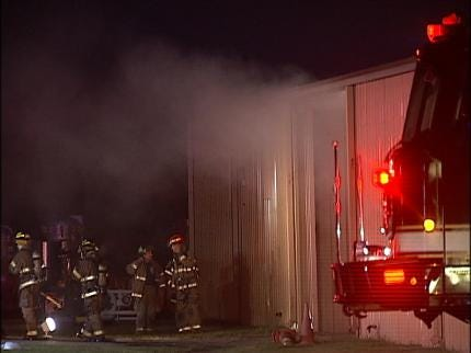 Heater Sparks Tuesday Morning Tulsa Business Fire