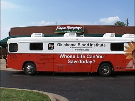 Blood Donors Got Free Pizza In Broken Arrow