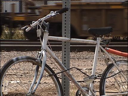 Ghost Bike Honors Bicyclist Killed In Tulsa