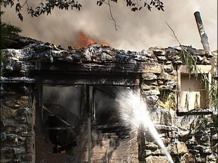 Vacant House In Turley Destroyed By Fire
