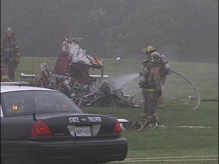 Five Tulsans Killed In Chandler Park Plane Crash