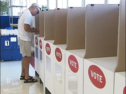 National Holiday Doesn't Stop Early Tulsa Voting