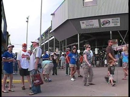 Tulsa Drillers Play Last Game At Fairgrounds