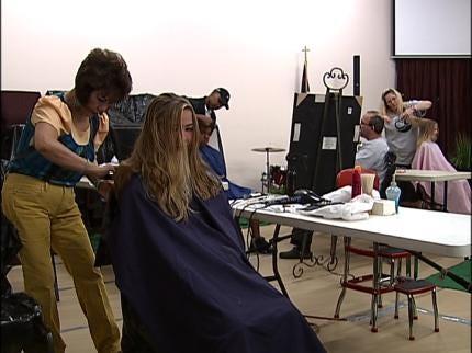 Tulsa Mane Event Trims Locks For Good Cause