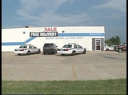 Man Shot At Tulsa Gun Store