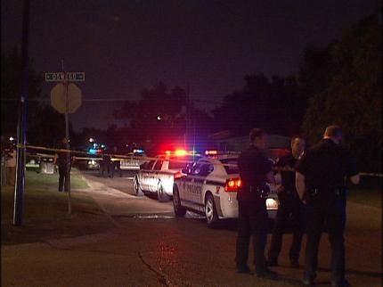 Suspects Still Sought In Fatal Tulsa Shooting