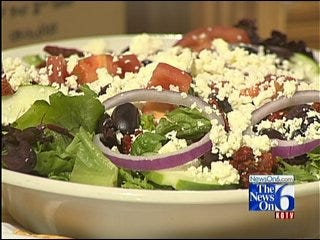 Dilly Deli's Leroy Salad and Poppy Seed Dressing