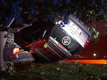 Tulsa Police: Street Racing Leads To Crash