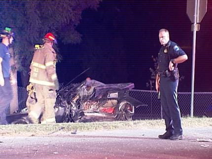 One Critical In Possible DUI Crash In Tulsa
