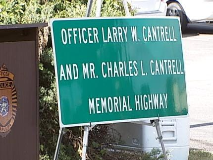 Portion Of State Highway 66 Renamed For Sapulpa Police Officer & Father