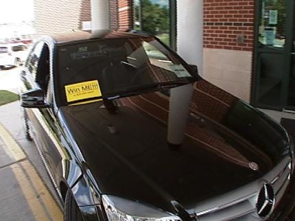 Raffle Tickets On Sale For New Mercedes Benz