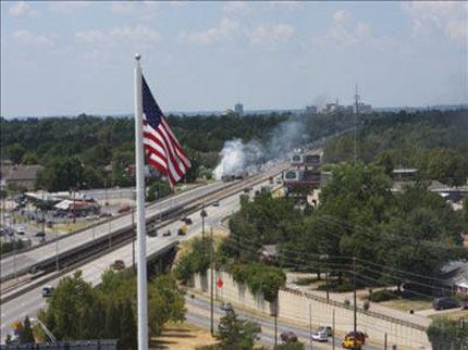 Fiery Accident On BA Expressway Shuts Down Eastbound Traffic