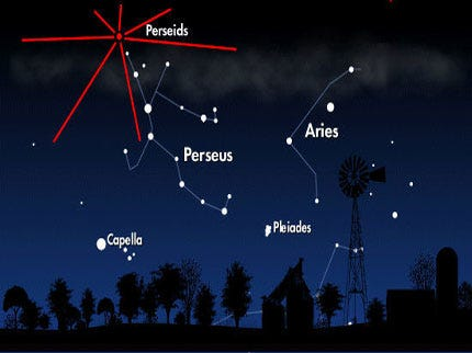 Perseid Meteor Shower Should Provide Great Show Over Oklahoma