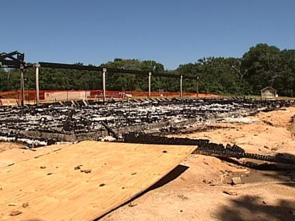 Suspicious Fire Destroys Building At Deep Fork Wildlife Refuge Near Okmulgee