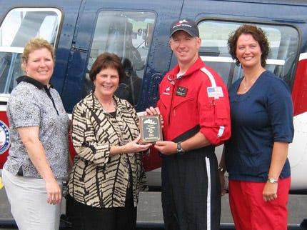 Claremore Flight Nurse For Air Evac Honored