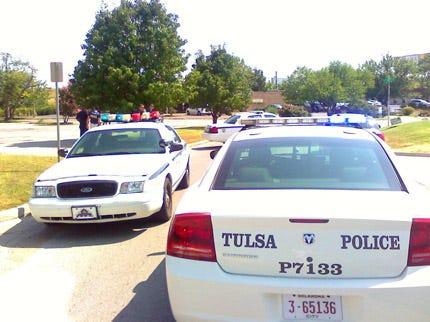 Tulsa Police: Device Found At Tulsa Business Not Suspicious