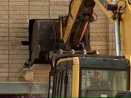 Tulsa's Booker T. Washington High School Field House Being Torn Down