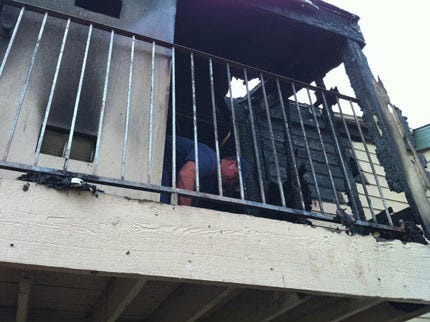 No One Injured In Tulsa Apartment Fire Early Sunday