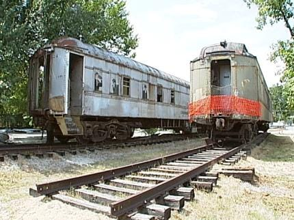 Train Enthusiasts On Track To Preserve Railroad Cars In Jenks
