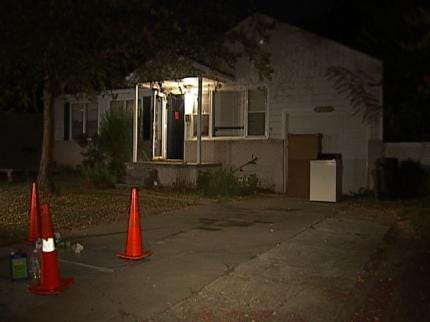 Components Of A Meth Lab Found In Tulsa Home's Garage