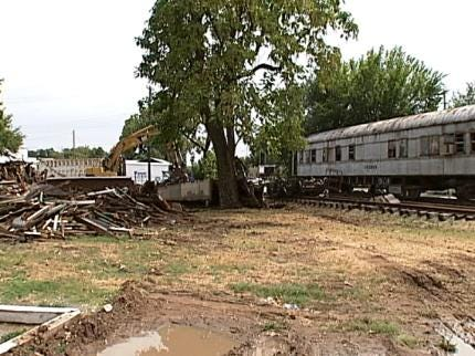 Plan To Save Jenks Railroad Cars Derailed