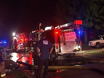 Cause Of Broken Arrow House Fire Under Investigation