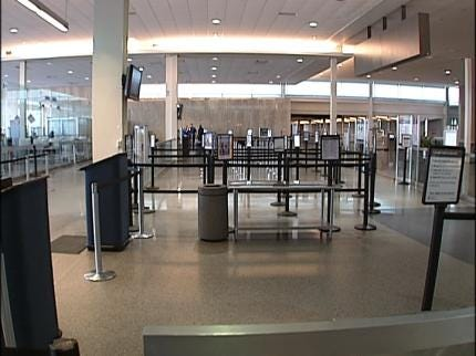 Explosive Device Discovered At TSA Checkpoint At Tulsa International Airport