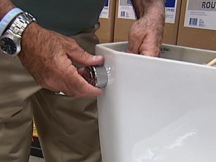Toilet Adaptor Helps Families Flush Their Way To Savings