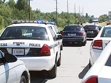 Tulsa Police: Gunshots Ring Out From Cars On Highway 169