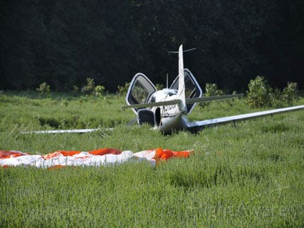 Two Walk Away From Airplane Accident In Southeast Oklahoma