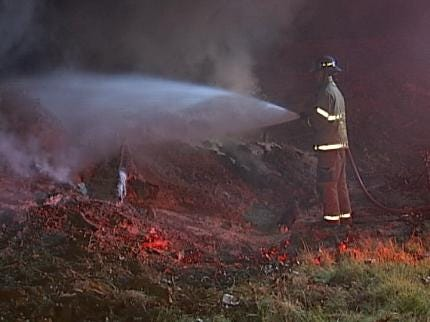Tulsa Fire Puts Out Six Brush Fires Early Thursday