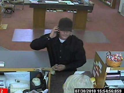Coweta Bank Robber Sought