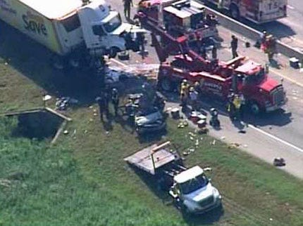 Truck Driver Pleads Guilty To Negligent Homicide In Will Rogers Turnpike Crash