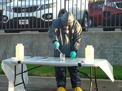 Tulsa QuikTrip Employee Spots Meth Lab In Trash