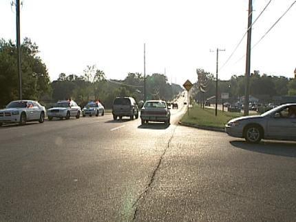 Seventh Grader Struck While Crossing Street Near Tulsa Public School