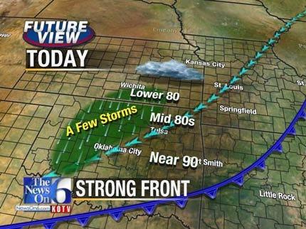 Front Brings Break From The Heat To NE Oklahoma