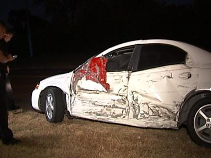 Driver In Tulsa Accident Flees Scene Before Police Arrive