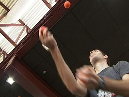 OSU Medical Students Say Juggling Is Great For The Brain