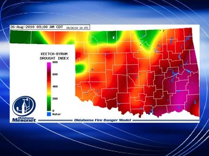 Drought Conditions Prompt Burn Bans In Eastern Oklahoma