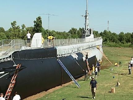 Work Under Way To Restore Muskogee's USS Batfish