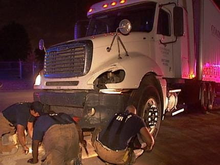 Truck Driver Found Dead In Cab After Tulsa Wreck Identified