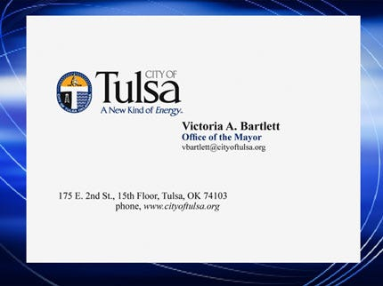 Tulsa City Council Won't Approve Business Cards For Mayor's Wife