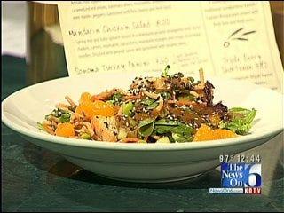 Oliveto's Mandarin Chicken Salad