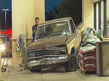 Truck Smashes Into Tulsa Grocery Store