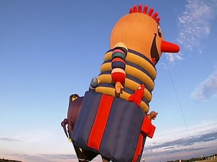 Claremore Balloon Festival Gets Ready For Lift Off