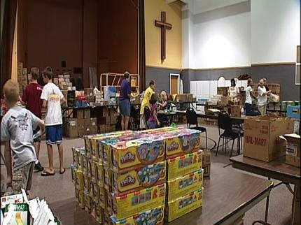Claremore Church Helps Kids Go Back To School