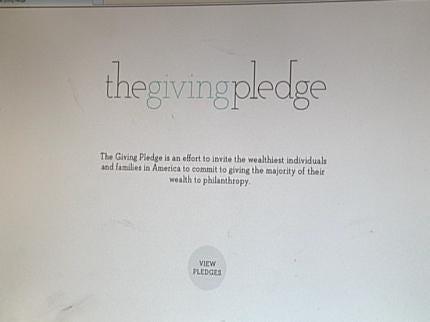 Kaiser, Pickens Take The Giving Pledge