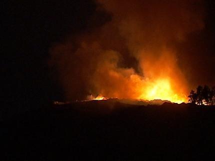 North Tulsa Landfill Shut Down Due To Smoldering Trash Fire