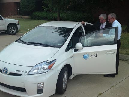 AT&T Adds Hybrid Cars To Its Tulsa Fleet